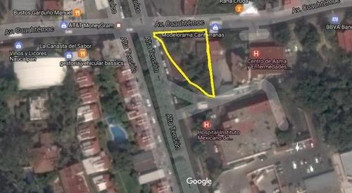 Terreno Comercial En Cantarranas / Cuernavaca - Ifo-40-tco