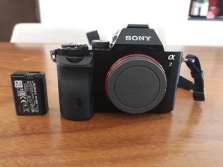 Camara Sony A7