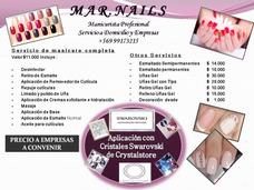 Manicure A Domicilio Y Empresas