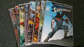 Superman Comics/lote