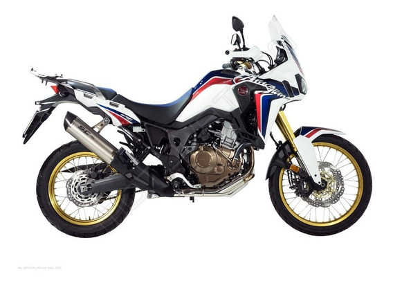 Moto Honda Crf 1000 Africa Twin Mt Transmisión Manual
