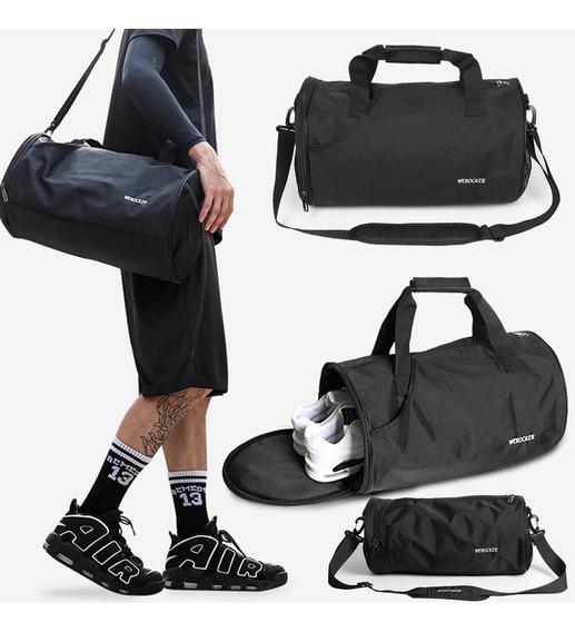 Esporte Gym Duffle Bolsa Bagagem Sapatos De Fitness Saco De