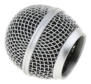 Bocha Parquer Metalica Para Microfonos Tipo 58