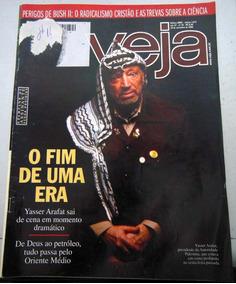 Revista Veja 1879 - 10 Nov 2004 Yasser Arafat Fim De Uma Era
