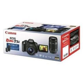 Câmera Canon T5i Completa 3 Lentes E 50mm 1.4 E Acessórios