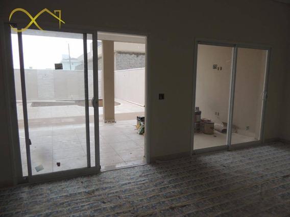 Casa Com 3 Dormitórios À Venda, 240 M² - Condomínio Terras Do Fontanário - Paulínia/sp - Ca0629