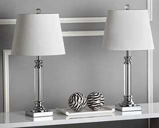 Safavieh Iluminacion Coleccion Zara 235inch Lampara De Mesa