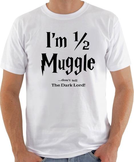 Camiseta Camisa Harry Potter Meio Sangue Não Conte Ao Lord