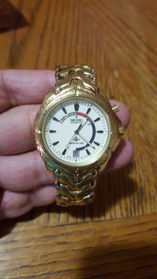 Reloj Seiko Kinetic Automatico 5m42-0f28