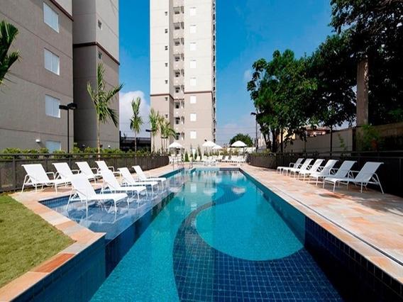 Pronto Para Morar, 2 Dormitorios, Apartamento A Venda, Sacada, Vaga De Garagem - Ap03663 - 31946358