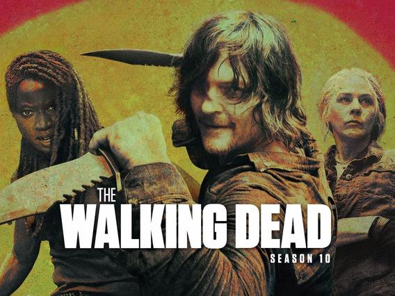 Serie The Walking Dead ( 9ª E 10ª Temporadas) Frete Grátis