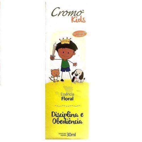 Cromo Kids Disciplina E Obediencia De 30ml - Cromo Florais