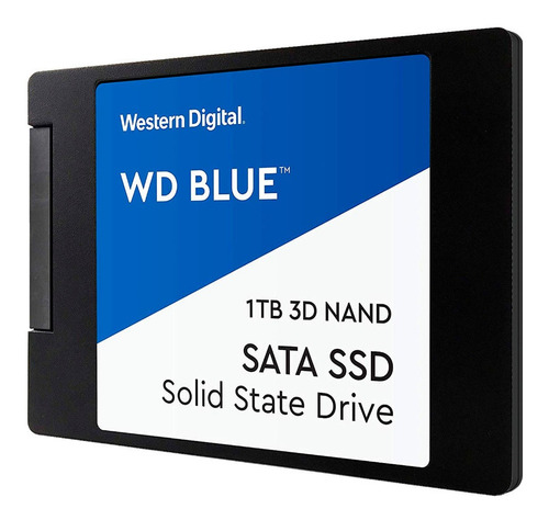 Disco Sólido Ssd 2.5 7mm Wd Blue 3d Nand 1tb Sata 3.0