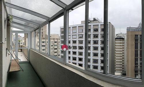Imagem 1 de 30 de Apartamento Com 2 Dormitórios, 115 M² - Venda Por R$ 1.100.000,00 Ou Aluguel Por R$ 3.312,00/mês - Higienópolis - São Paulo/sp - Ap5115