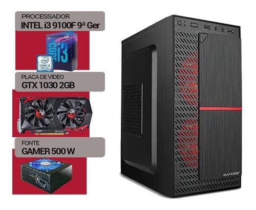 Pc Gamer Intel I3 9100f, Ssd240gb, Gt 1030 2gb, 8gb Ddr4