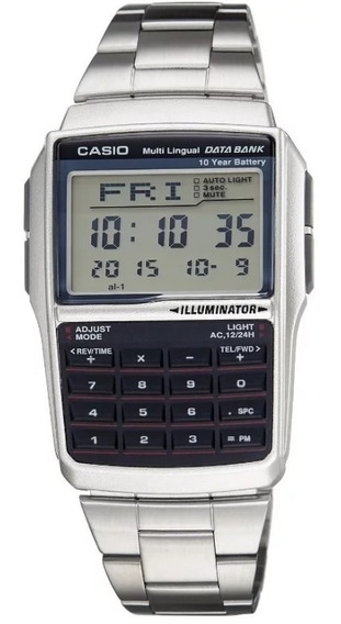 Relógio Masculino Casio Esporte Prata Digital Dbc-32d-1adf