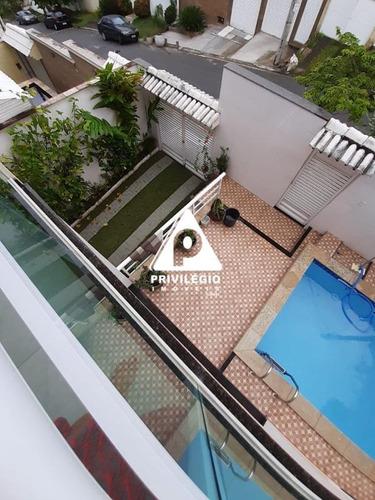 Casa Em Condomínio À Venda, 4 Quartos, 3 Suítes, 3 Vagas, Pechincha - Rio De Janeiro/rj - 25797