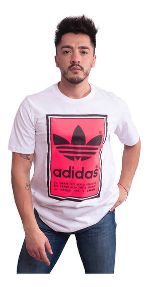 Remera adidas Originals Filled Label -ed6938- Trip Store