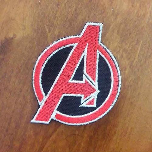 Imagen 1 de 2 de Parche, Avengers Logo Rojo Accoriginals