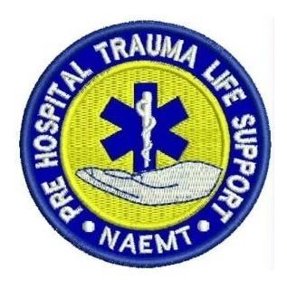 Phtls Pre Hospitalar Trauma Patch Bordado Termocolante
