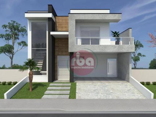 Casa Com 3 Dormitórios À Venda, 158 M² Por R$ 900.000,00 - Condomínio Ibiti Reserva - Sorocaba/sp - Ca2042