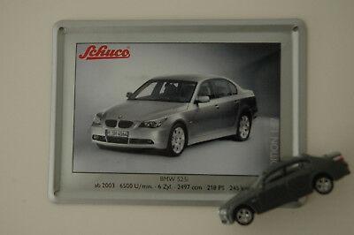 Carro Miniatura Bmw 525i 2003 Escala 1/87 Schuco