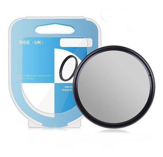 Filtro Cpl Ou Uv Polarizador Para Lente Filtro De 49mm