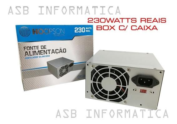 Caixa C/ 6 Fontes Atx Hoopson Fnt-230w-h 230w Real