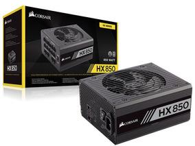 Fonte Atx 850w 80plus Platinum Hx850 Pfc Ativo Modular Silen