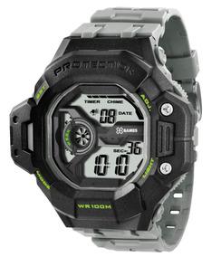 Relógio X-games Xmppd295 - Cinza