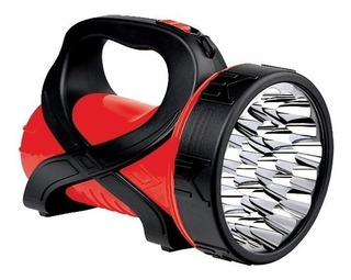 Lanterna Recarregável Holofote 25 Super Leds Bivolt Dp736a