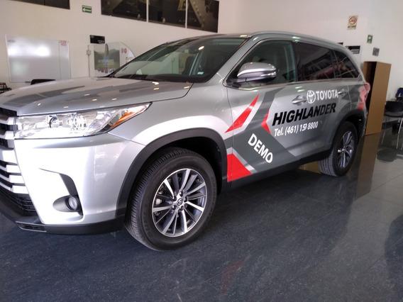 Toyota Highlander Xle Plus 2019 Demo