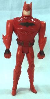 Muñeco Batman Rojo Kenner 1993 Super Heroe 12,5 Cm.