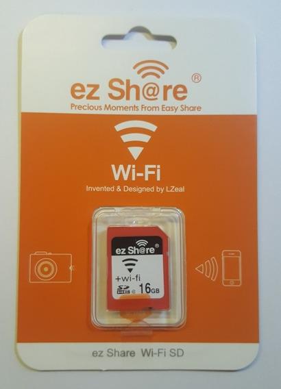 Ez Share Cartão Sd Wifi 16 Gb Semelhante Ao Toshiba Flashair