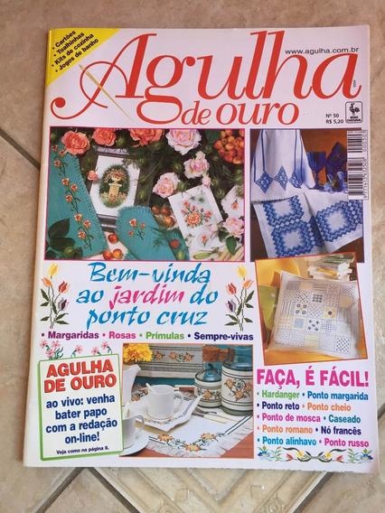 Revista Agulha De Ouro 50 Ponto Cruz Hardanger Enxoval M567