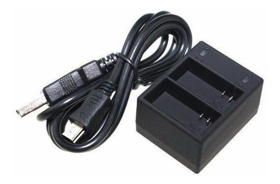 Carregador Duplo Gopro Usb Bateria Gopro Hero 4 - Gp161