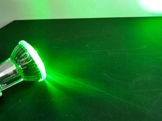 5 - Lampada Led Verde 110v Festa, Balada Ou Cenica.