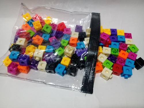 Cubos Conectores X100, Inchlink Cubes, Metodo Singapur