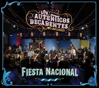 Tnms Cd+dvd Los Auténticos Decadentes ¿ Fiesta Nacional Mtv