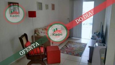 Apartamento Com 2 Dormitórios À Venda, 73 M² Por R$ 380.000 - Canto Do Forte - Praia Grande/sp - Ap4056
