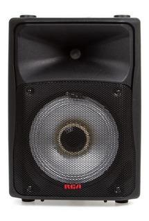 Bocina Amplificada De Gran Poder De 8 Pulgadas Bluetooth, Fm, Tarjeta Sd, Entrada Auxiliar, Con Batería Recargable! Rca