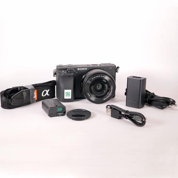 Câmera Sony Alpha A6400 Com Lente 16-50mm