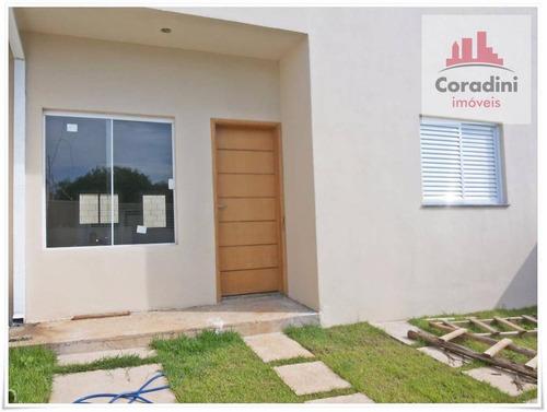 Imagem 1 de 12 de Casa Residencial À Venda, Jardim São Manoel, Nova Odessa. - Ca0703