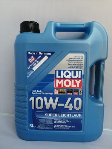Imagen 1 de 2 de Liqui Moly Super Leichtlauf 10w40 Semi-sintético 5l
