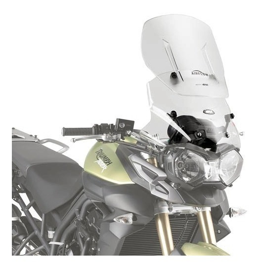 Bolha Parabrisa Givi Af6401 Air Flow Regulável Tiger800