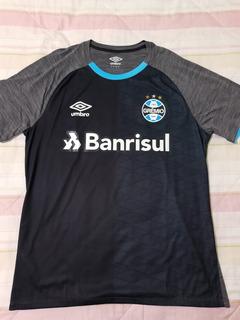 Camisa De Treino Do Grêmio Umbro Cinza