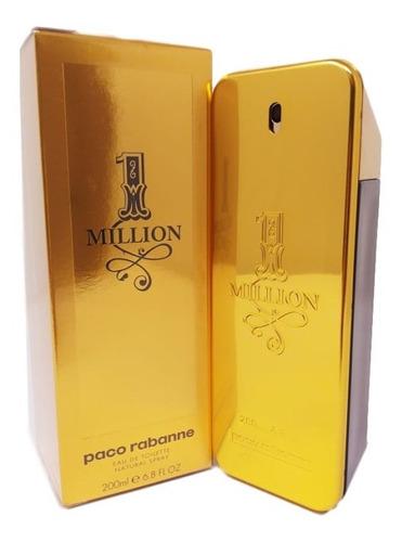 Imagem 1 de 5 de Perfume One Million Edt. 200ml -original +2 Amostras  E Nf