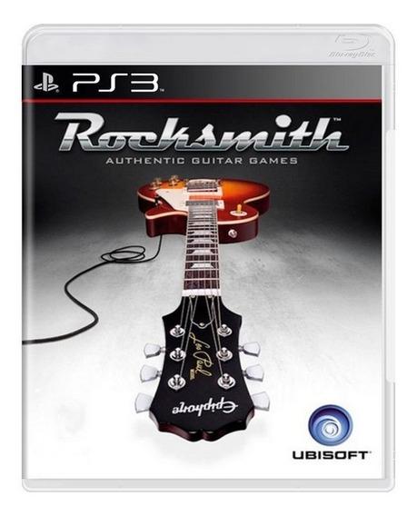 Game Play3 - Rocksmith - Semi-novo Jogo Ps3