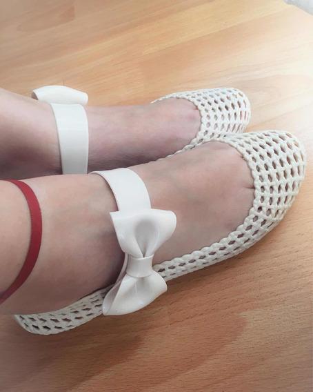 Zapatos Melissa Chatitas Blancas