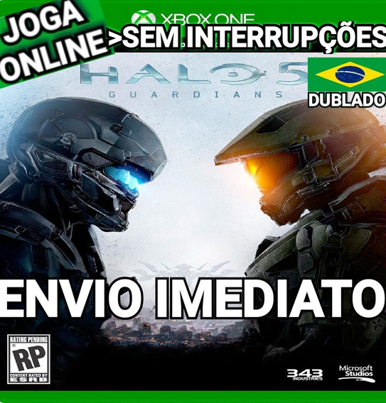 Halo 5 Guardians Xbox One Online Digital Original Dublado Br